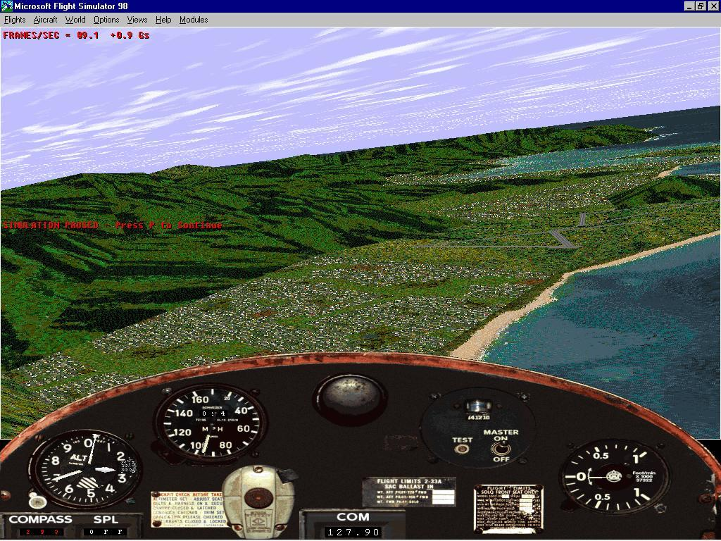 FS98 in software mode