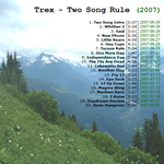 View printable CD cover for album: Two Song Rule